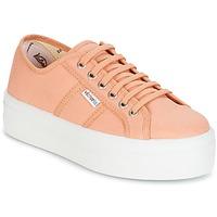 Schoenen Dames Lage sneakers Victoria BLUCHER LONA PLATAFORMA Oranje
