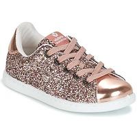 Schoenen Meisjes Lage sneakers Victoria DEPORTIVO GLITTER KID Roze
