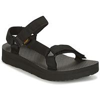 Schoenen Dames Sandalen / Open schoenen Teva MIDFORM UNIVERSAL Zwart