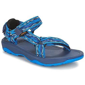 Schoenen Jongens Outdoorsandalen Teva HURRICANE XLT 2 Blauw