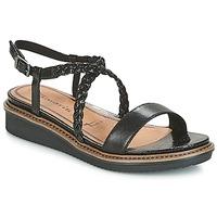 Schoenen Dames Sandalen / Open schoenen Tamaris GACAPIN Zwart