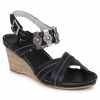 Schoenen Dames Sandalen / Open schoenen Regard REDAPI Zwart