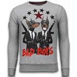 Textiel Heren Sweaters / Sweatshirts Local Fanatic Bad Boys - Rhinestone Sweater 35