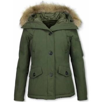 Textiel Dames Dons gevoerde jassen Thebrand Winterjassen - Dames Winterjas Canada Kort - Parka 25