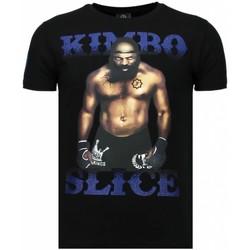 Textiel Heren T-shirts korte mouwen Local Fanatic Kimbo Slice - Rhinestone T-shirt 38