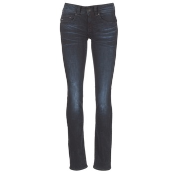 Textiel Dames Straight jeans G-Star Raw MIDGE SADDLE MID STRAIGHT Rink