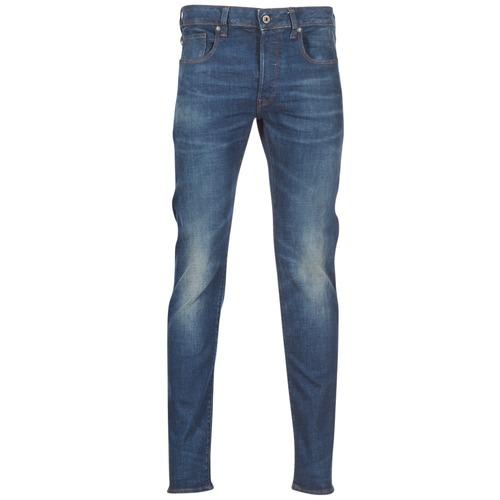 Textiel Heren Skinny jeans G-Star Raw 3301 SLIM Blauw