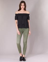 Textiel Dames 5 zakken broeken G-Star Raw D-STAQ 5-PKT MID SKINNY COJ WMN Light