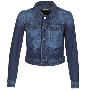 Textiel Dames Spijker jassen G-Star Raw D-STAQ S DC DNM JKT WMN Medium / Vintage