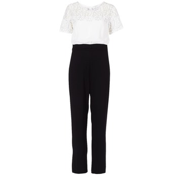 Textiel Dames Jumpsuites / Tuinbroeken Molly Bracken YURITOE Zwart / Wit