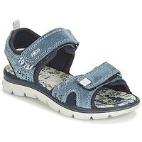 Schoenen Jongens Sandalen / Open schoenen Primigi RAPASTIC Blauw