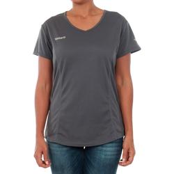 Textiel Dames T-shirts korte mouwen Izas ADAIA DARK GREY Gris oscuro