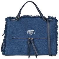 Tassen Dames Handtassen kort hengsel Le Temps des Cerises EMILY 2 Blauw