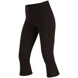 Textiel Dames Leggings Litex Sportswear Zwarte dunne dames sportlegging in 7/8 lengte Juliette Anders