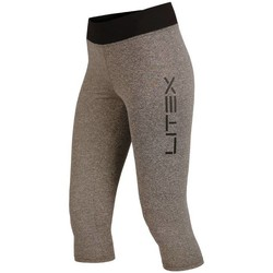 Textiel Dames Leggings Litex Sportswear Grijze dames sportlegging Meidina in 3/4 lengte Anders