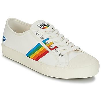 Schoenen Dames Lage sneakers Gola COASTER RAINBOW Wit