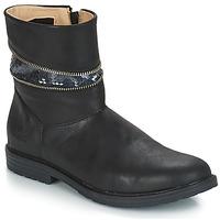 Schoenen Meisjes Hoge laarzen GBB MAFALDA Vts / Zwart / Dpf / Emma