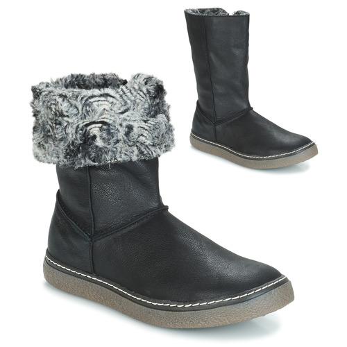 Schoenen Meisjes Hoge laarzen GBB DUBROVNIK Zwart