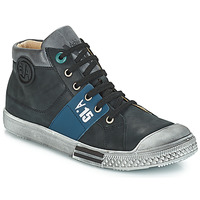 Schoenen Jongens Hoge laarzen GBB RUFINO Vtu / Zwart / Dpf
