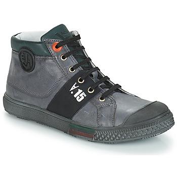 Schoenen Jongens Hoge laarzen GBB RUFINO Nuv / Grijs / Dpf