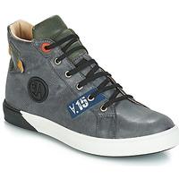 Schoenen Jongens Hoge laarzen GBB SILVIO Nuv / Grijs-groen / Dpf / Evoque
