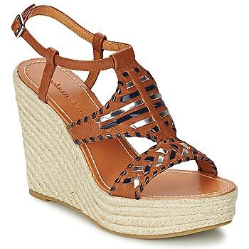 Schoenen Dames Sandalen / Open schoenen Mellow Yellow SAKE Camel