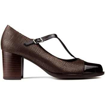 Schoenen Dames pumps Kroc S  CUERO MARRON