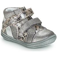 Schoenen Meisjes Hoge sneakers GBB ROXANE Zilver