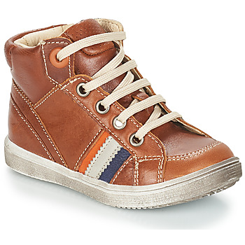 Schoenen Jongens Hoge sneakers GBB ANGELITO Bruin