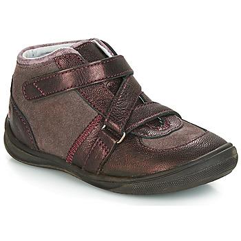 Schoenen Meisjes Laarzen GBB RIQUETTE Bruin / Brons