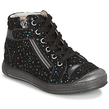 Schoenen Meisjes Laarzen GBB DESTINY Vte / Zwart / Confetti / Dpf / Edit