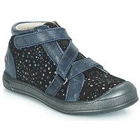 Schoenen Meisjes Hoge sneakers GBB NADEGE Blauw / Zwart