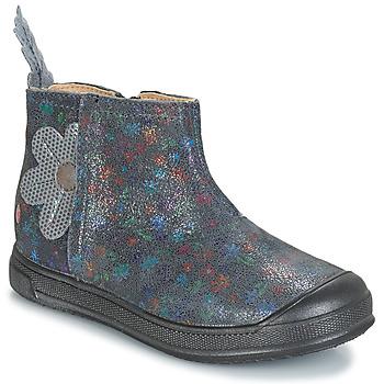 Schoenen Meisjes Laarzen GBB ROMANE Grijs