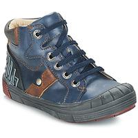 Schoenen Jongens Hoge sneakers GBB RENZO Blauw