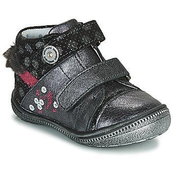 Schoenen Laarzen Catimini ROSSIGNOL Vtc / Grijs - zilver / Dpf / 2822