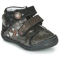 Schoenen Laarzen Catimini ROSSIGNOL Vtc /  noir-cuivre / Dpf / 2822