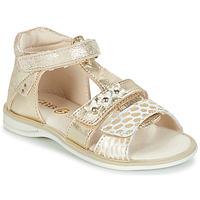 Schoenen Meisjes Sandalen / Open schoenen GBB SYLVIE Goud