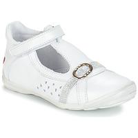 Schoenen Meisjes Sandalen / Open schoenen GBB SALOME Wit
