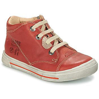 Schoenen Jongens Laarzen GBB SYLVAIN Vte / Roest / Dpf / Sneeuw
