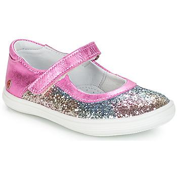 Schoenen Meisjes Ballerina's GBB PLACIDA Svt / Roze / Multi / Dpf