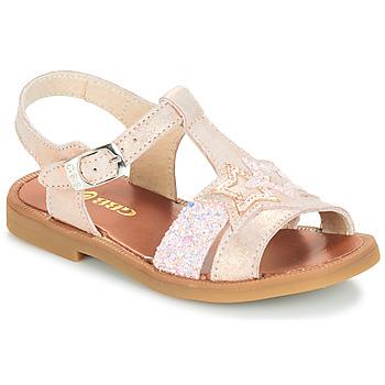 Schoenen Meisjes Sandalen / Open schoenen GBB SHANTI Roze