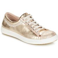 Schoenen Meisjes Laarzen GBB GINA Vte / Beige - goud / Dpf / 2835