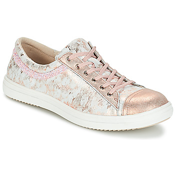 Schoenen Meisjes Laarzen GBB GINA Vte / Roze - grijs / Dpf / 2835