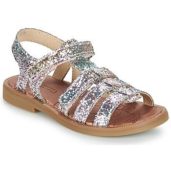 Schoenen Meisjes Sandalen / Open schoenen GBB KATAGAMI Tts / Roze / Multi / Dpf / 2794