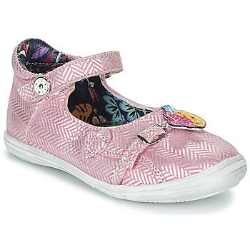 Schoenen Meisjes Sandalen / Open schoenen Catimini SITELLE Roze / Zilver