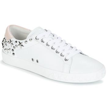 Schoenen Dames Lage sneakers Ash DAZED Wit / Roze