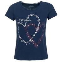 Textiel Dames T-shirts korte mouwen Esprit WEJA Marine