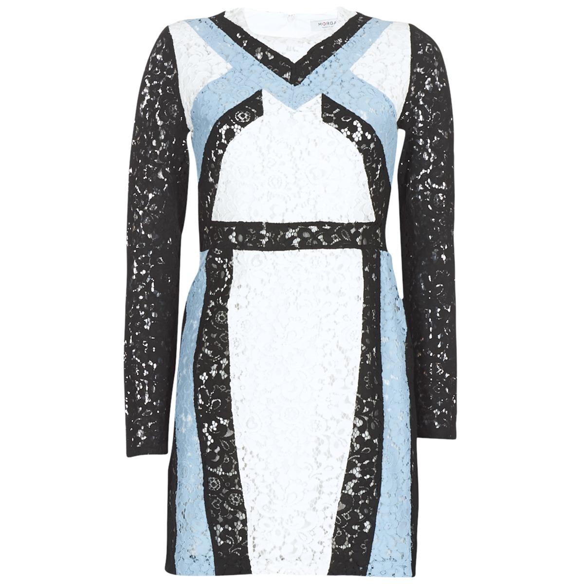 Morgan korte jurk rlixi wit