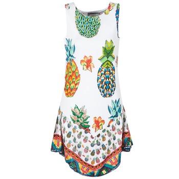 Textiel Dames Korte jurken Desigual HOQLER Wit
