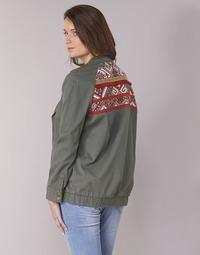 Textiel Dames Wind jackets Kaporal MABYL Kaki